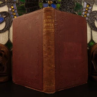 1862 1st ed Slave Power Cairnes American CIVIL WAR Slavery Abolition Conspiracy