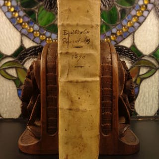 1570 Pope Gregory IX Decretales Catholic Church Canon LAW & Papal Inquisition