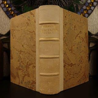 1691 1st ed Jacques Rohault Physics Mathematics Astronomy Optics Illustrated