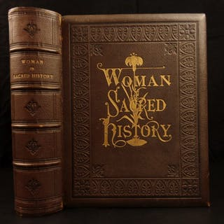 1873 1st ed Women in Sacred History Harriet Beecher Stowe Illustrated