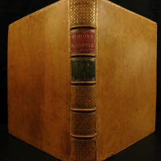 1749 Buffon Natural History Microscope Leevwenhoek SPERM Microbiology Biology