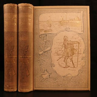 1894 BEAUTIFUL Knickerbocker's History of New York Washington Irving
