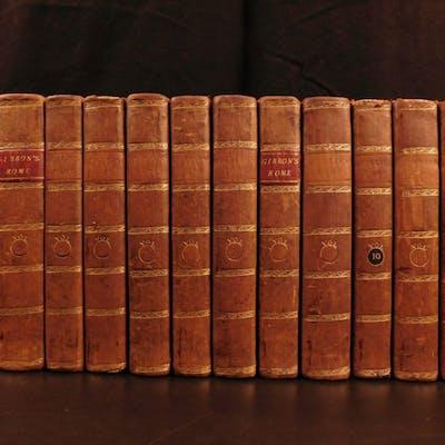 1807 History of Decline & Fall of Roman Empire ROME Famed Edward Gibbon 12v SET