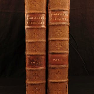 1523 1st ENGLISH ed Froissart Chronicles Medieval Hundred Years War Chivalry