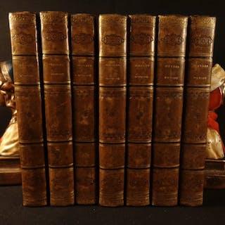 1799 1ed Complete Works of Ovid Metamorphoses Elegies Heroides 7v SET Myth ROME