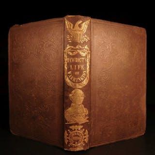 1855 Life of George Washington by Bancroft American Revolutionary WAR Americana