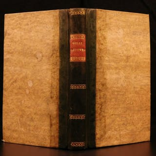 1556 1st ed Letters of Gelli Commentary on Dante's INFERNO Italian
