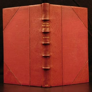 1658 RARE 1ed Hawkins England Civil WAR Scotland Saxons Normans Queen Elizabeth