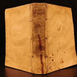 1582 1ed Torquemada Hexameron Demonology Exorcisms Poltergeists Occult Fairies