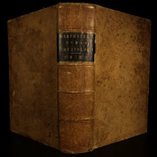 1859 Principles of Human Physiology Anatomy Illustrated MEDICINE Carpenter