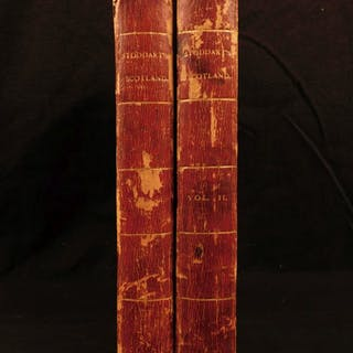 1801 1ed Remarks on Scotland Scenery Cathedrals Edinburgh CASTLE Illustrated