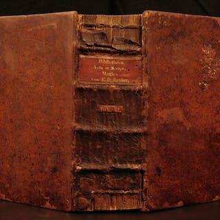 1741 1ed Hauber Scripta Magica Occult Witchcraft Exorcisms Devils