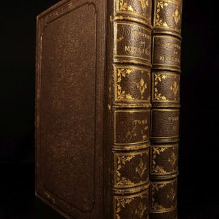 1872 EXQUISITE Moliere Complete Works Tartuffe Misanthrope Illustrated