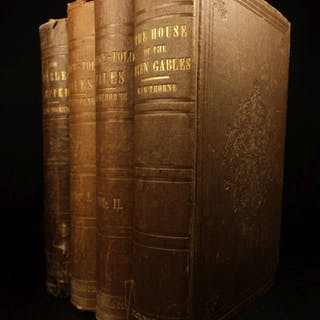 1850 The Scarlet Letter Hawthorne Puritan Adultery Feminism Seven