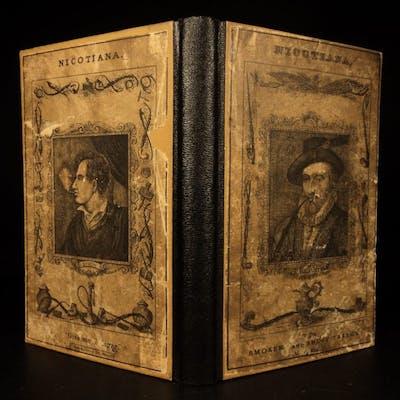 1832 1st ed Nicotiana Smokers Companion Cigars Cigarettes Smoking