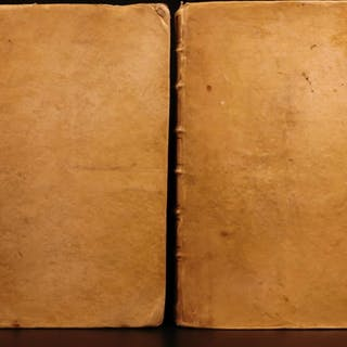 1714 Brunnemann Frankfort LAW Commentary Saxon Jurisprudence Benedictine FOLIO