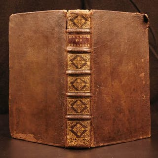 1698 1st ed History of Ptolemy XII Auletes EGYPT Cleopatra Egyptian Music Flute