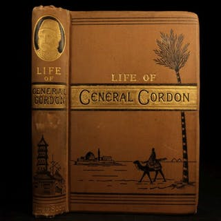 1887 Life of General George Gordon British Army China Egypt Arabia Sudan Wars