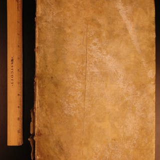 1684 Johann Kahl Feudale Lexicon Civil Criminal LAW Roman Jurisprudence