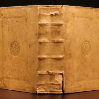 1573 1ed Philosophy of CICERO Lambin Divination Academica LAW Divination ROME