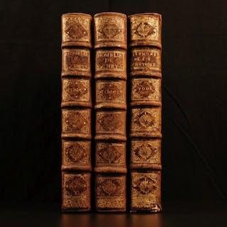 1665 Sermons of Byzantine Orthodox Saint John Chrysostom Constantinople 3v SET