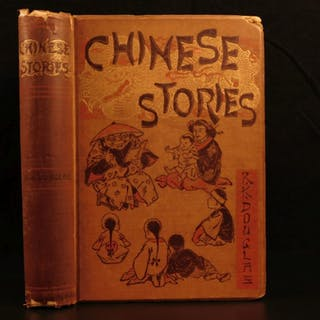 1893 Chinese Stories CHINA Folklore Literature Alchemy Buddhism Confucius