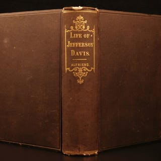 1868 Jefferson Davis Civil War SECRETS Slavery Confederate Gettysburg Vicksburg