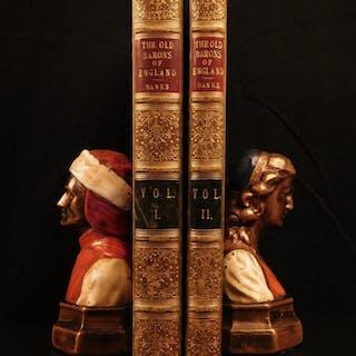 1844 Baronia Anglica Baronies of Nova Scotia Great Britain Feudal LAW Nobility