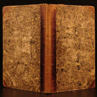 1815 1st ed The Field of Waterloo Walter Scott Poem Napoleon England WAR Poetry