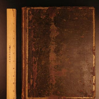 1808 The Shipwreck William Falconer EXQUISITE ART Scottish Ships MAPS Nautical