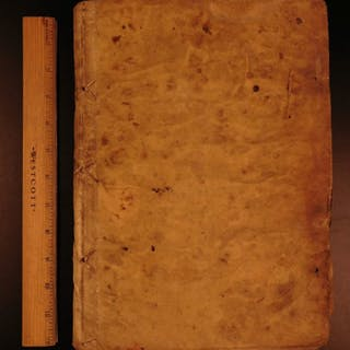 1726 Herrera Decadas Spanish Exploration Florida Hernando de Soto Voyages Spain