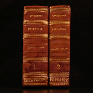 1558 Description of GREECE Pausanias Greek Geography Mythology Roman Pine Trees