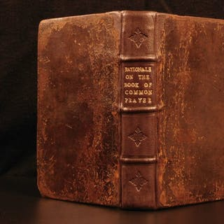 1684 Rationale on English Book of Common Prayer Anglican Church England Sparrow