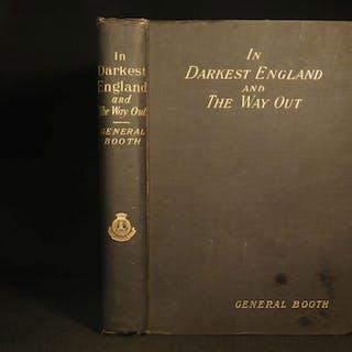 1890 1st ed In Darkest England William Booth Salvation Army Africa Humanitarian