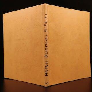 1602 Haraeus Olympiades et Fasti Jesus Historical Source Concordance