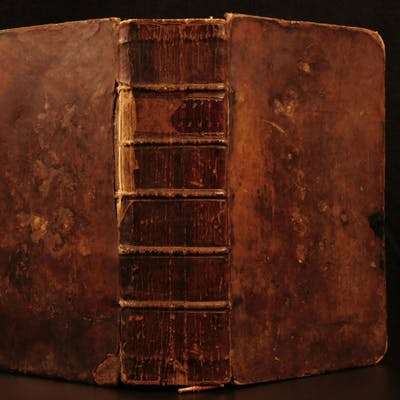 1786 Samuel Johnson FAMOUS Dictionary of English Language Americana Lexicon