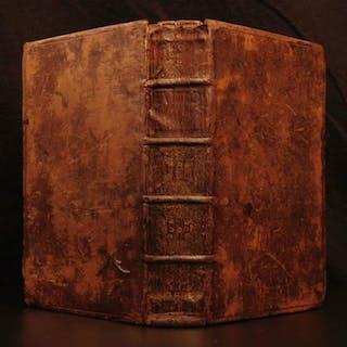 1684 1st ed HUDIBRAS English Civil War Political Satire Poetry Samuel Butler