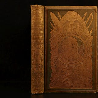 1853 1st ed Traditions of Dee-Coo-Dah Native American Indian Mounds Illustrated