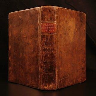 1695 Contemplations Moral & Divine Matthew Hale LAW George Washington Influence