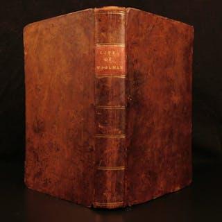 1794 Journal of John Woolman Slavery QUAKER New Jersey Witch Hunts Negroes