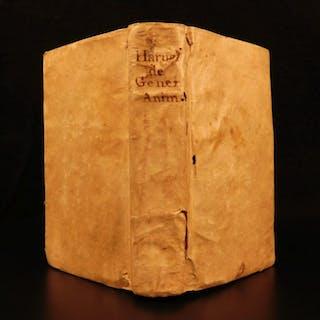 1651 1ed William Harvey Generation of Animals Childbirth Embryology Obstetrics