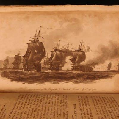 1799 1st ed Naval Chronicle England Royal Navy Pellew Illustrated Nassau MAPS