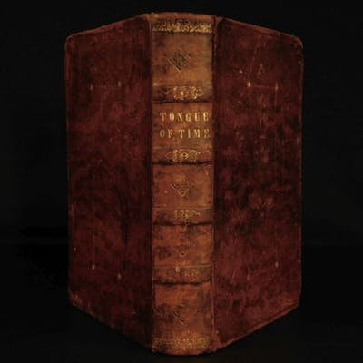 1838 1ed Tongue of Time Bizarre Occult Dreams Idol Witchcraft Indian