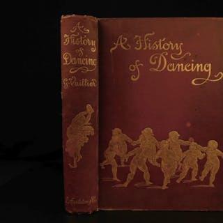 1898 History of Dancing Gaston Vuillier DANSE Illustrated DANCE Feminism Ballet
