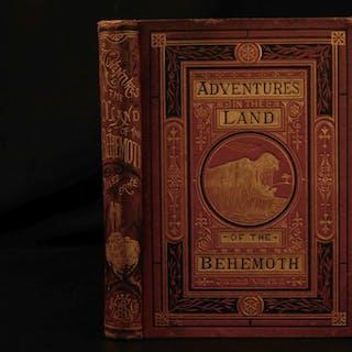 1874 1ed Jules Verne Meridiana Africa Adventure Voyages Illustrated