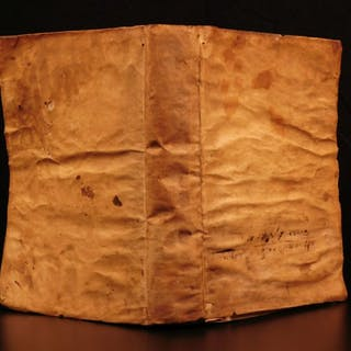 1603 The BEST Aeneid Virgil Italian + Annibale Caro Commentary Roman Mythology