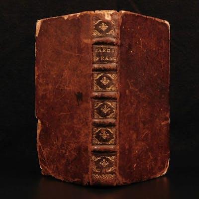 1677 GARDENS Nicolas Bonnefons Cuisine French Gardener Cookbook Herbs Mushrooms