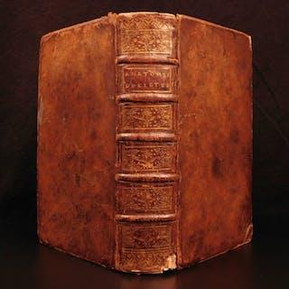 1735 Medicine & Surgery Lorenz Heister Human Anatomy Senac Illustrated Science