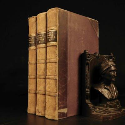 1822 Wealth of Nations Adam Smith Economics Industrial Revolution Capitalism 3v