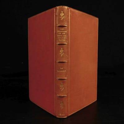 1822 1ed Confessions of an English Opium-Eater Quincey Alcohol & Drug Addiction
